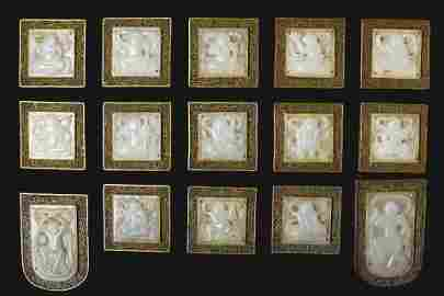 Tang Dynasty - Set of Jade Silk Belt