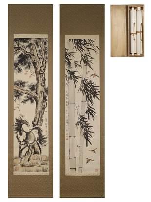 Xu Beihong Horse Painting