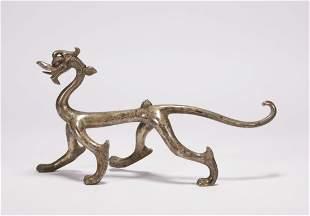Tang Dynasty - Bronze Dragon