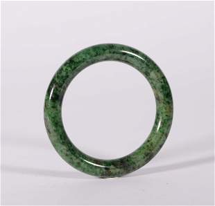 Qing Dynasty - Jadeite Bracelet