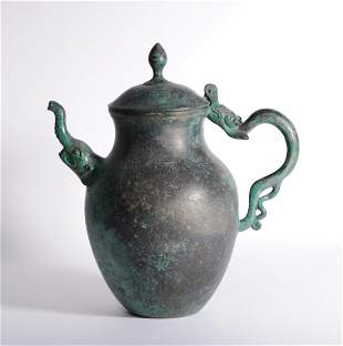 Tang Dynasty - Bronze Kettle
