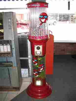 COOL LOLLIPOPS COIN-OP MACHINE