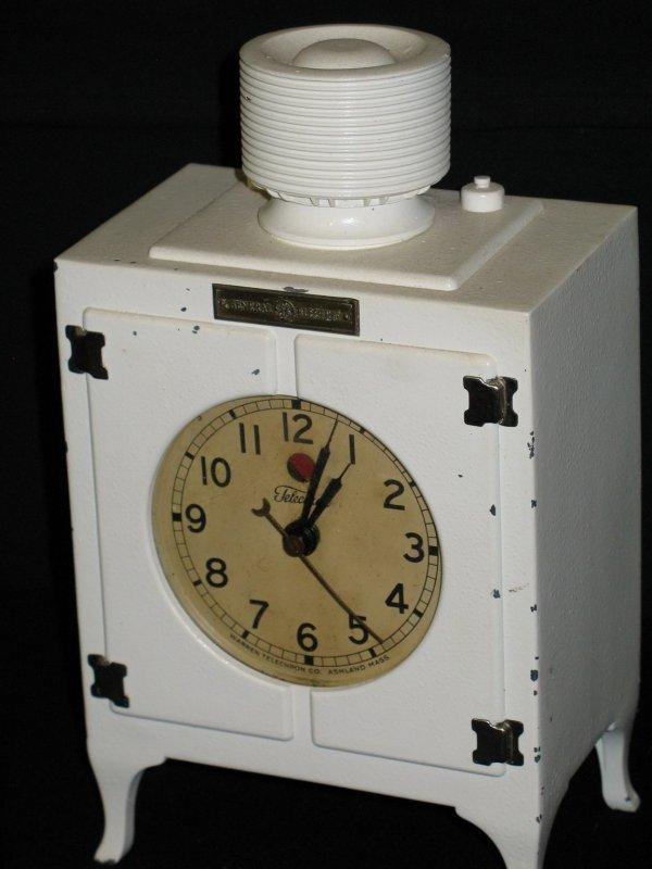 102: ANTIQUE TELECHRON GE REFRIGERATOR CLOCK - 2
