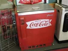 1950s COCA-COLA GLASCO SLIDER MACHINE