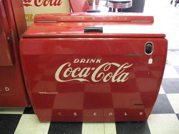 491: 1950s COCA-COLA WESTINGHOUSE WE6 SODA MACHINE