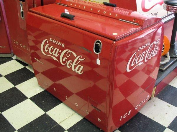 491: 1950s COCA-COLA WESTINGHOUSE WE6 SODA MACHINE - 3