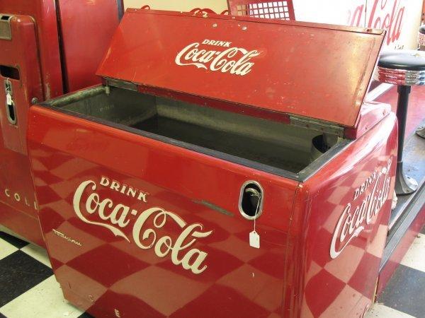 491: 1950s COCA-COLA WESTINGHOUSE WE6 SODA MACHINE - 5