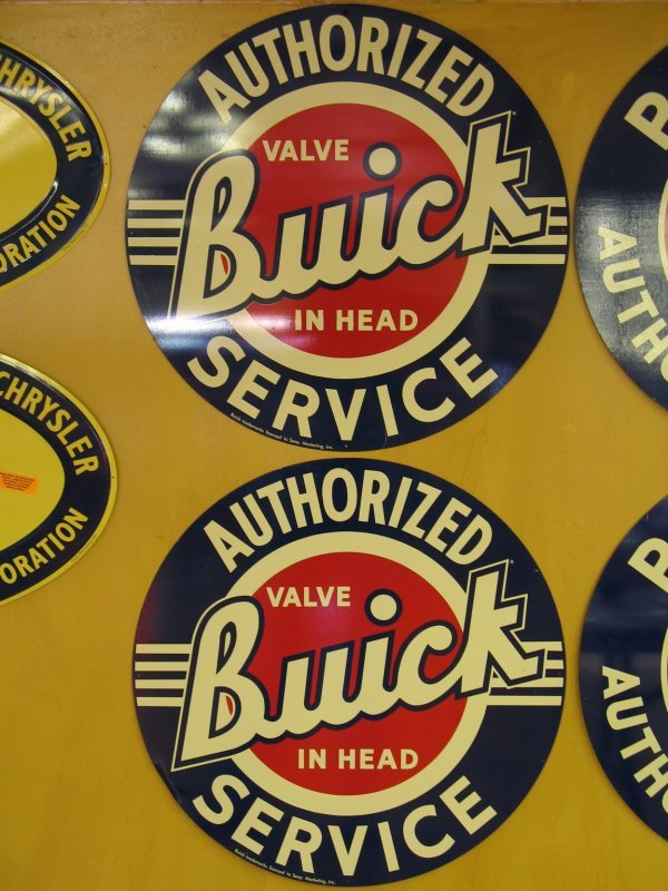 509: BUICK SERVICE SIGNS REPRODUCTION