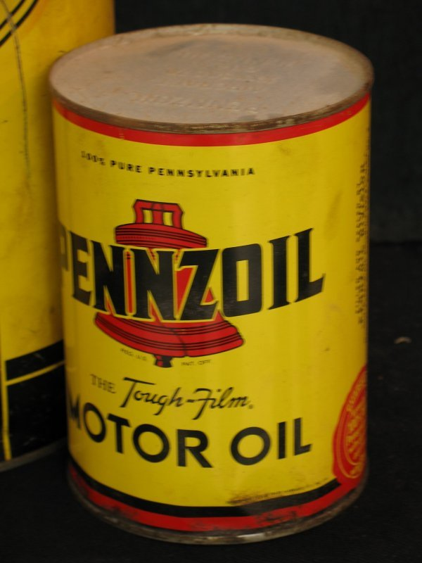 755: VINTAGE PENNZOIL MOTOR OIL CAN PRODUCTS - 5