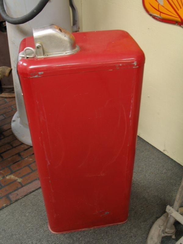 853: 1950s TOKHEIM MODEL 40 GAS BOY PUMP - 5