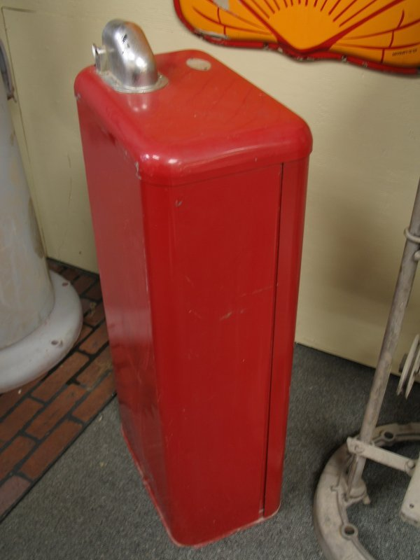 853: 1950s TOKHEIM MODEL 40 GAS BOY PUMP - 6