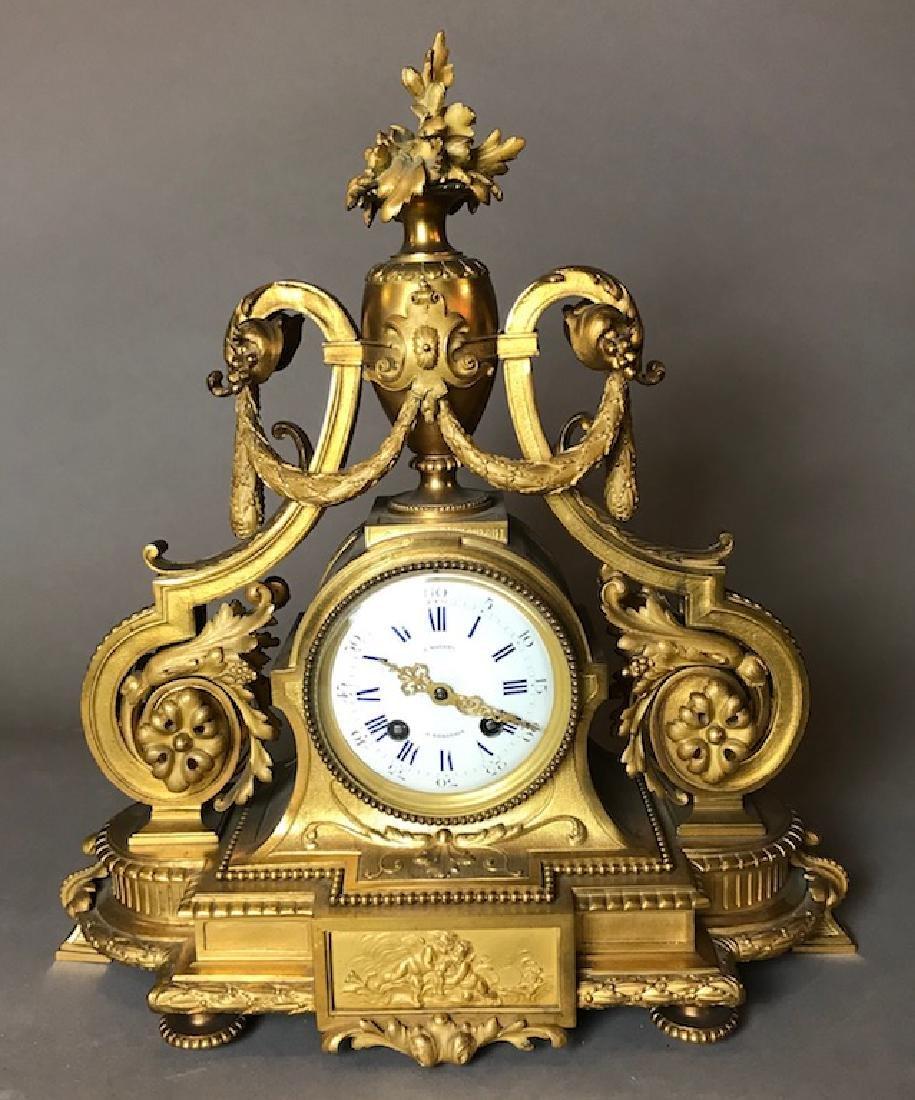 French Napoleon III Mantel Clock