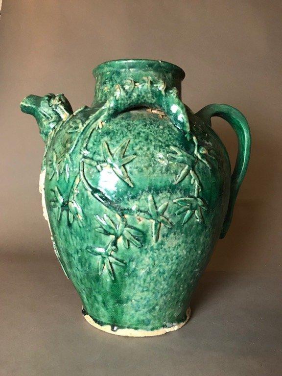 Chinese Pottery Glazed Pitcher