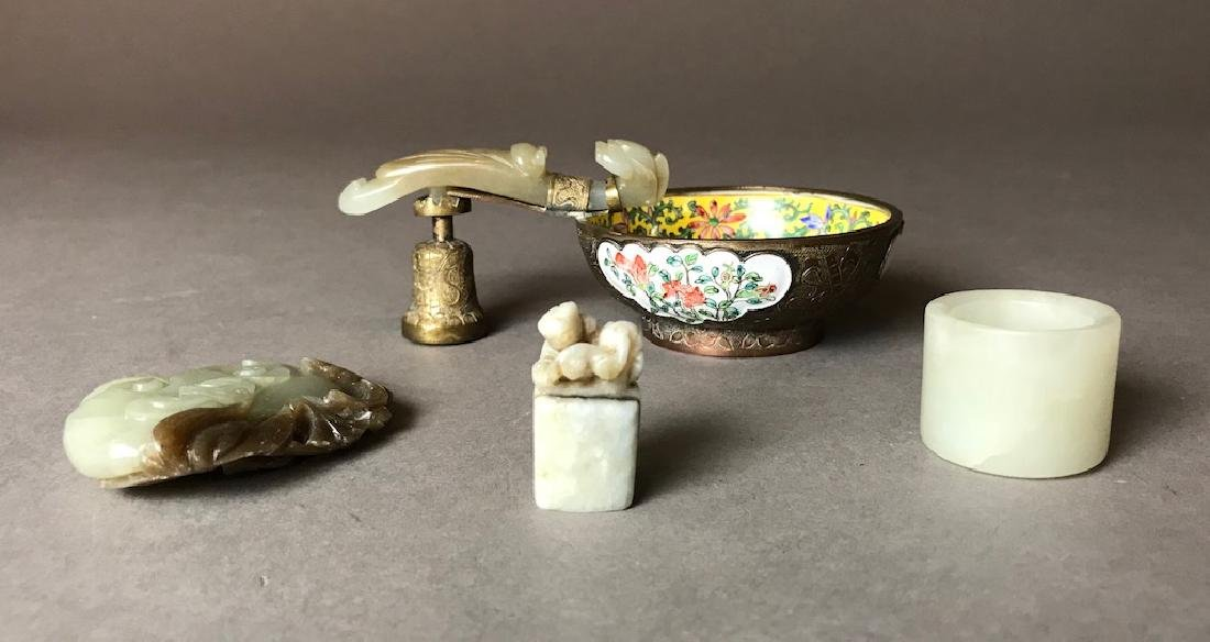 Lof Of Old Chinese White Jade