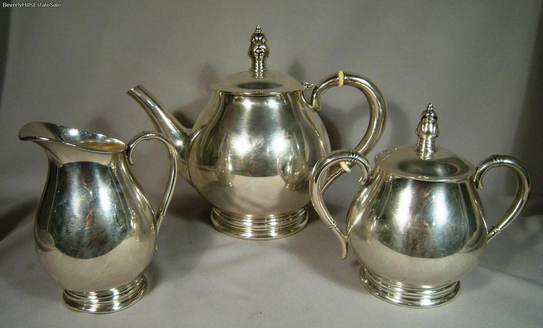 Royal Danish International Sterling Silver Three Piece