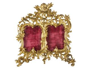 French 19th Century Ormolu Bronze Picture Frame
