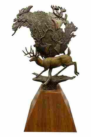Fred Boyer Bronze Sculpture
