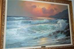 Alexander Dzigurski (1911-1995) Oil on Canvas