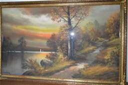 Andrew Gunderson (1898-1964) Pastel