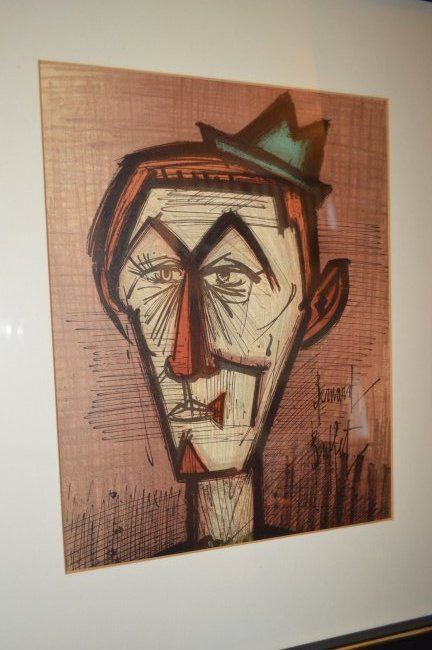 Amazing Bernard Buffet Lithograph Home Interior And Landscaping Ologienasavecom