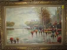 Wilhelm Dunhann Oil on Canvas