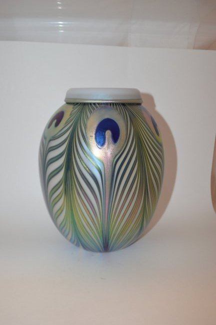 1998 Charles Lotton Art Glass Vase