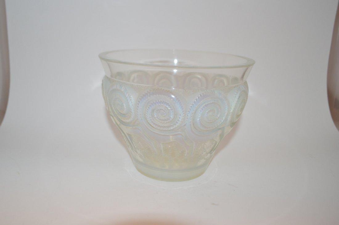 Lalique Crystal Rennes Vase
