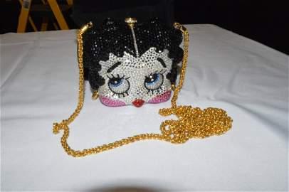 Katherine Bauman Beverly Hills Swarovski Betty Boop Bag