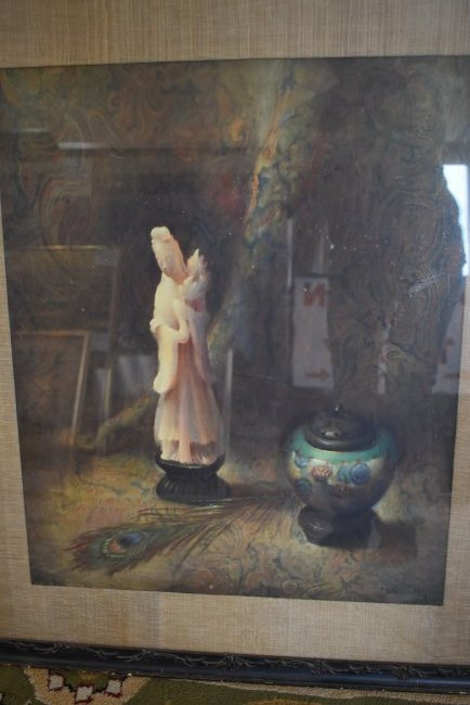 Molly Guion Framed Lithograph