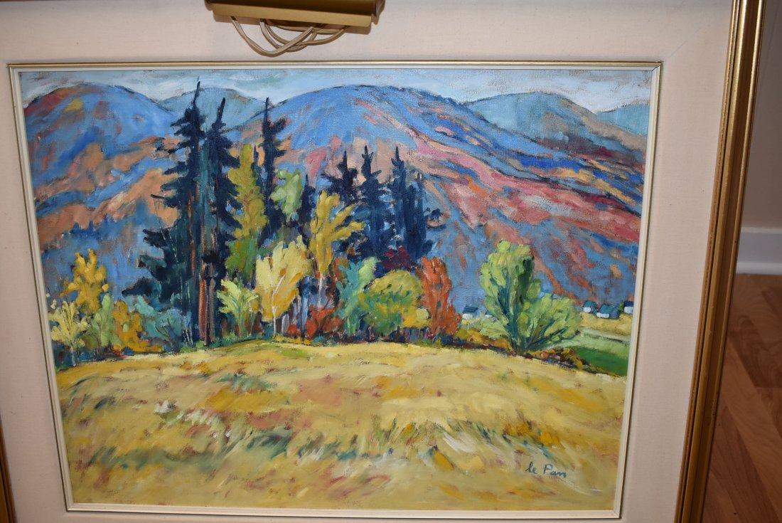LePan Original Oil Painting