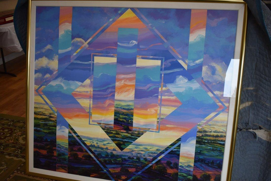 Henri Linton Large Original Painting
