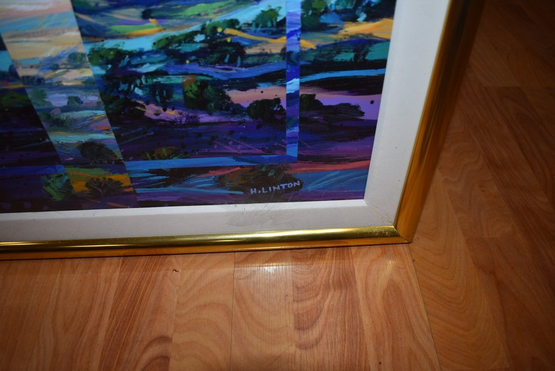 Henri Linton Large Original Painting - 3