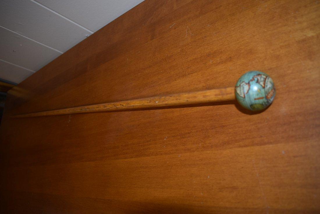 1933 Chicago World's Fair Globe Cane - 3