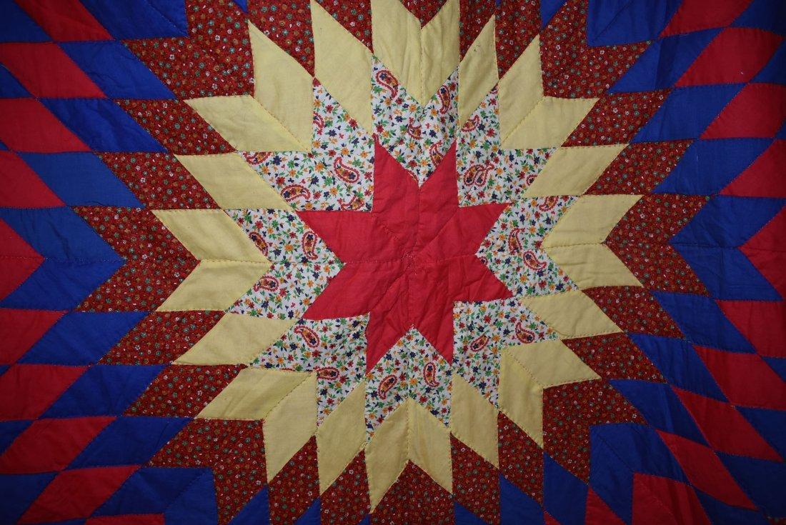 Amish Star Quilt #12 - 2