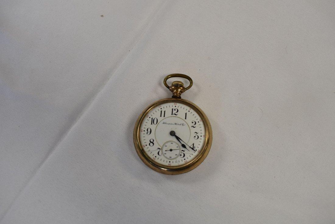 Vintage Hampton Pocket Watch