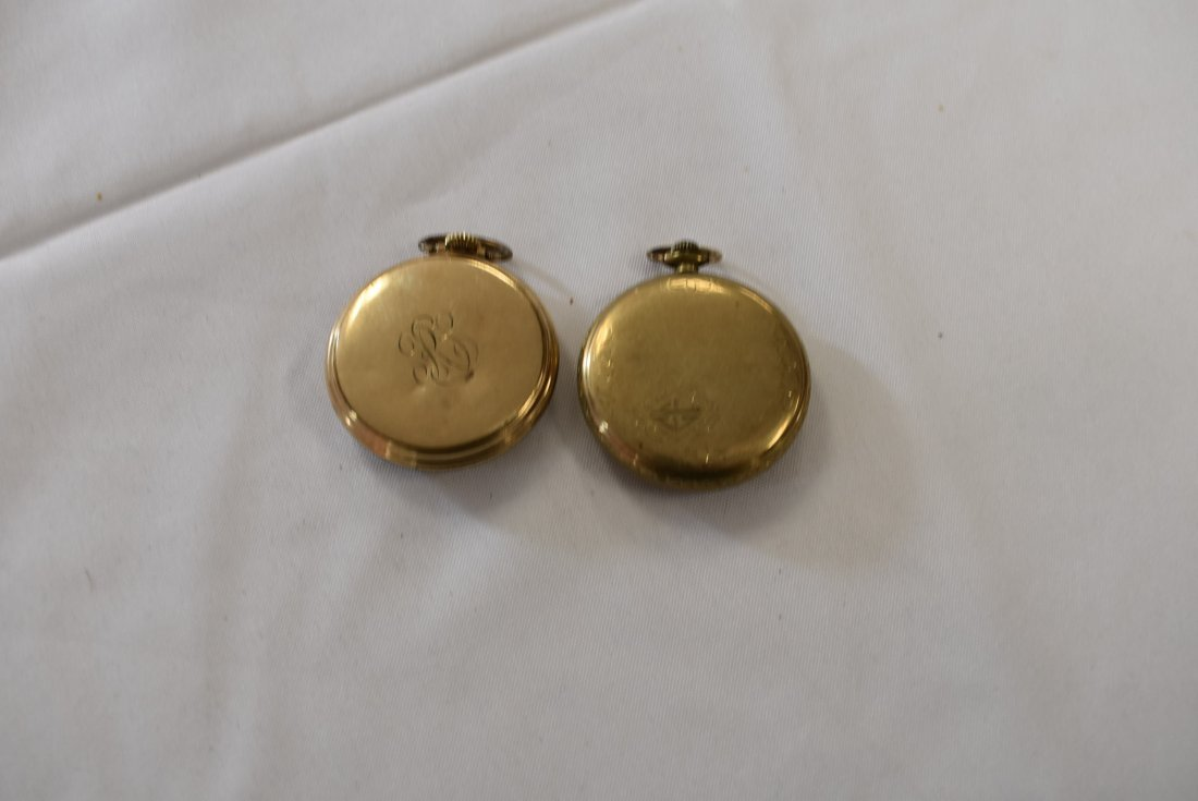 Lot of 2 Vintage Elgin Pocket Watches - 2