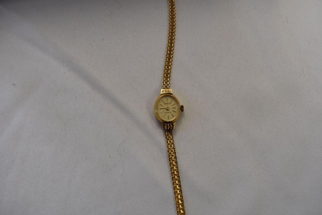 14K Gold Ladies Geneve Watch
