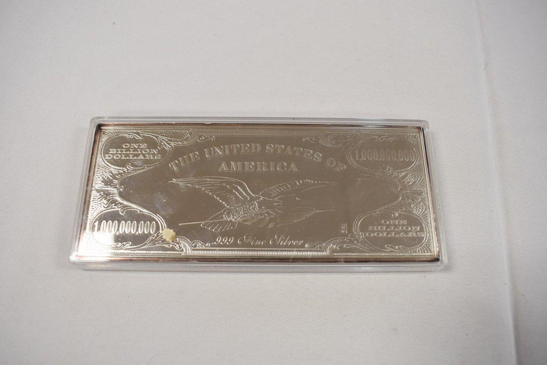 4 Troy Ounce Silver Bar - 2