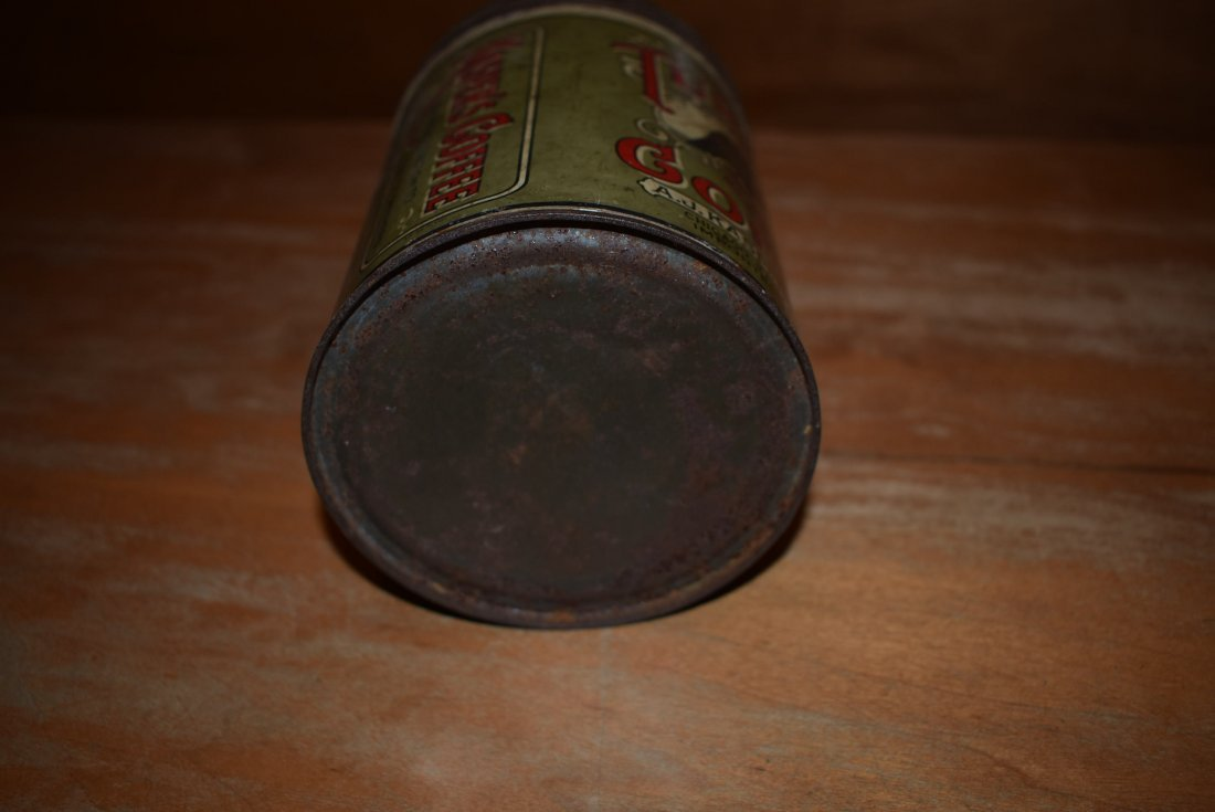 RARE A.J. Kasper Turkey Coffee Tin - 5