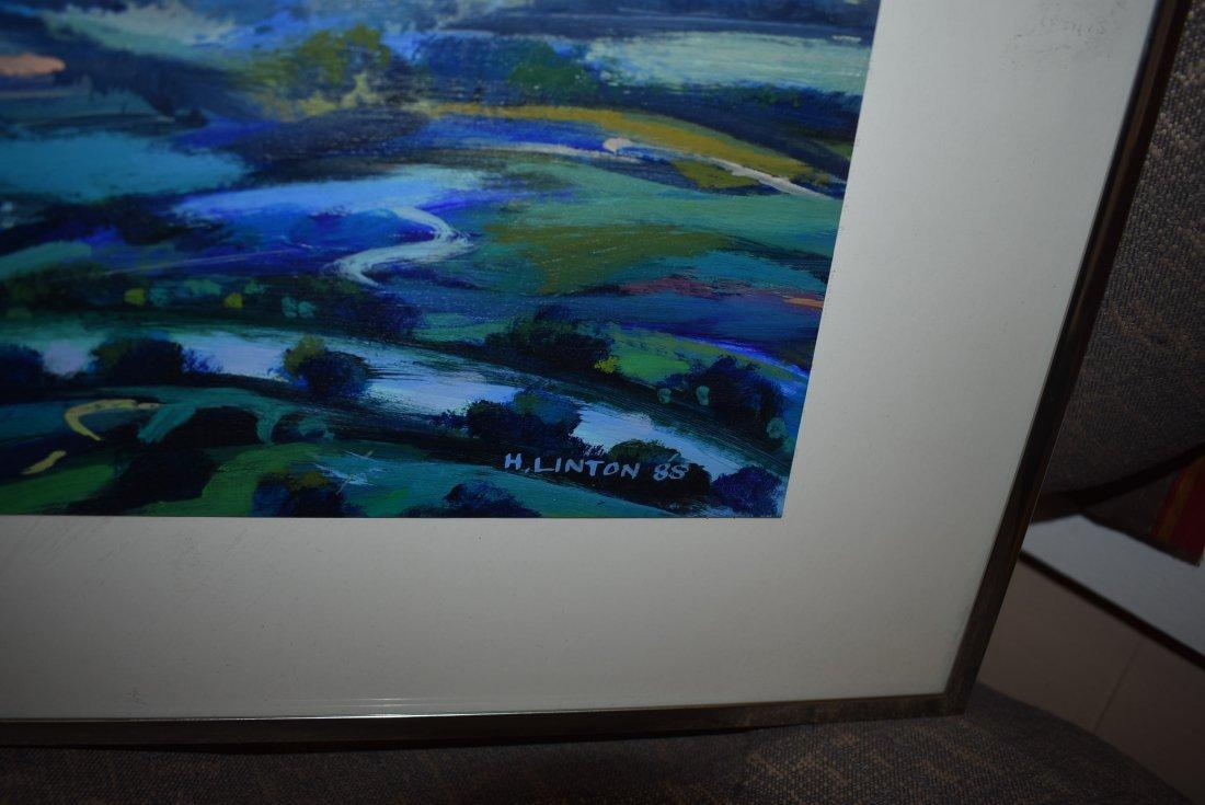 Henri Linton Original Painting - 2