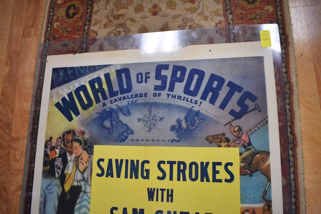 Vintage World of Sports Sam Snead Poster - 2