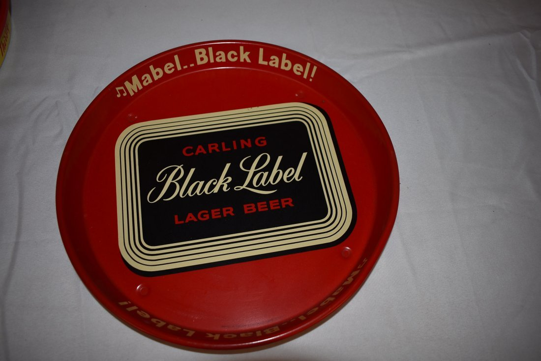 Vintage Carling Black Label Beer Tray