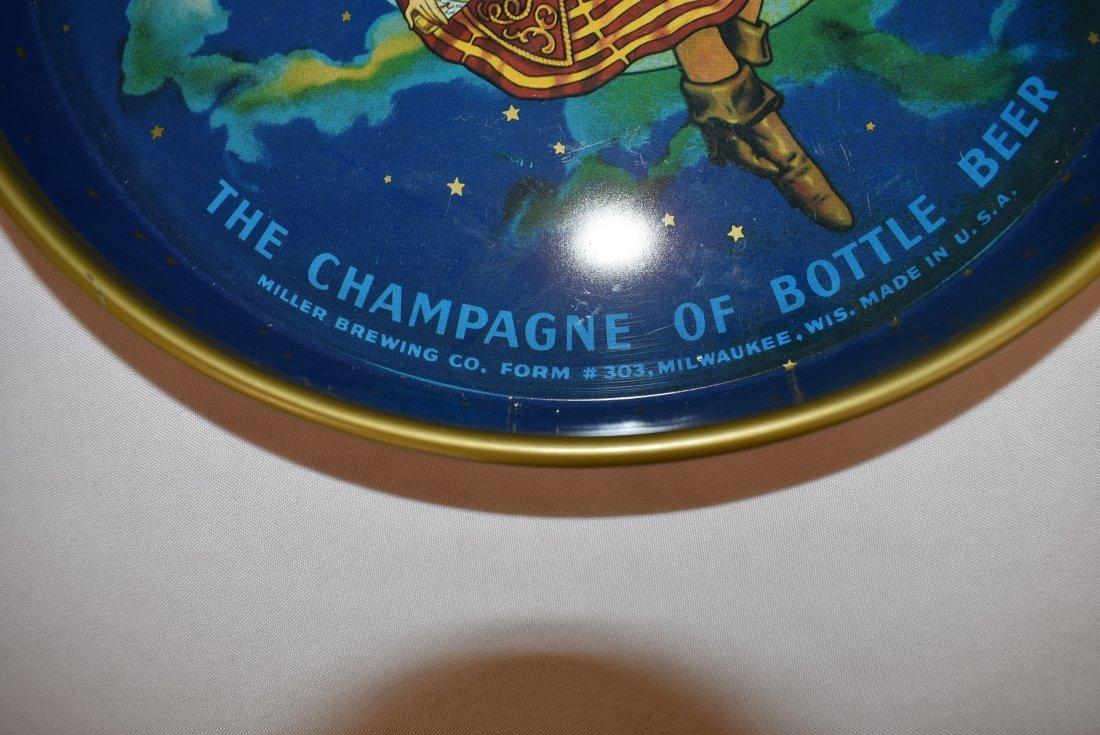 Vintage Miller High Life Beer Tray Original Form #303 - 3