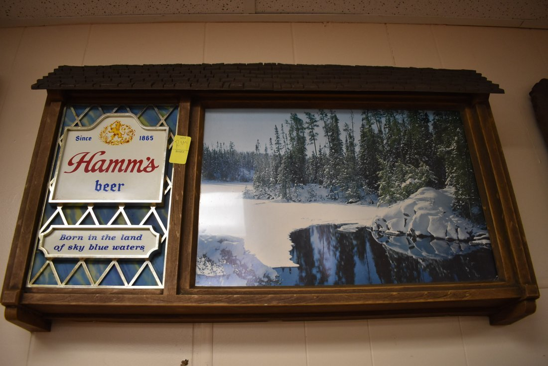 Vintage Hamms  Beer Sign/Light