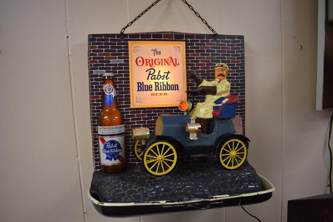 Vintage Pabst Blue Ribbon Beer Sign