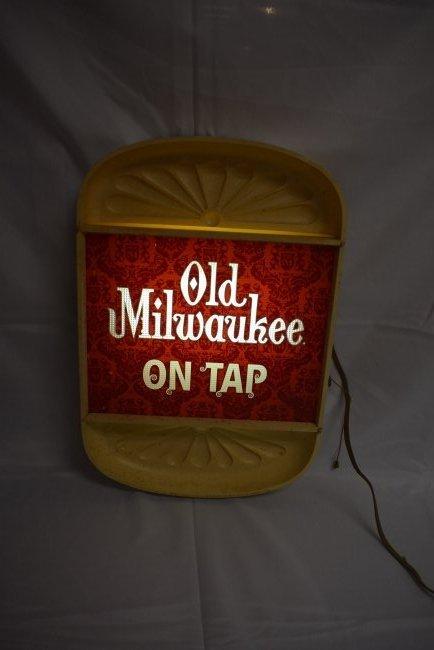 Old Milwaukee 1960's Light/Sign