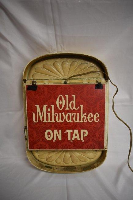 Old Milwaukee 1960's Light/Sign - 2