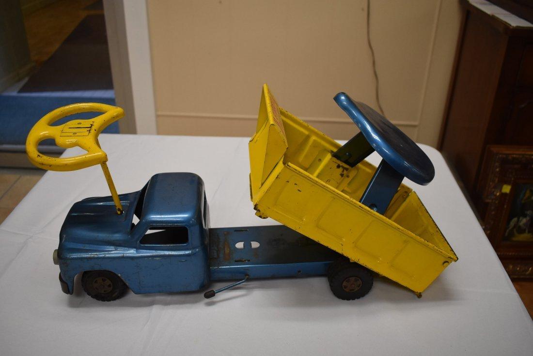 Structo Metal Toy Ride 'er Dump - 4