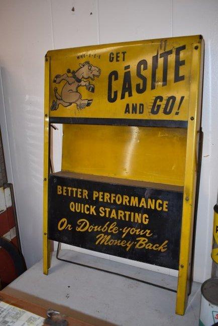 Vintage Casite Oil Store Display