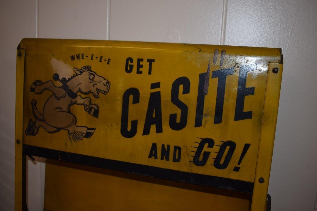Vintage Casite Oil Store Display - 2